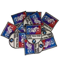 Bmw Moto Club Italia Patch Distintivi ricamati