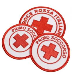 Patch Croce Rossa Italiana Distintivi ricamati